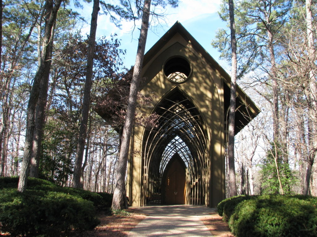 Cooper Memorial Chapel  Bella Vista, Arkansas