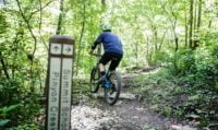 Bella Vista AR mountain bike riding trail
