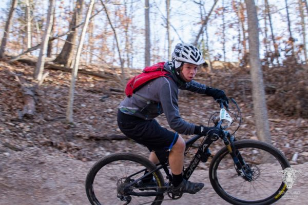 Rago Trail mountain bike riding arkansas