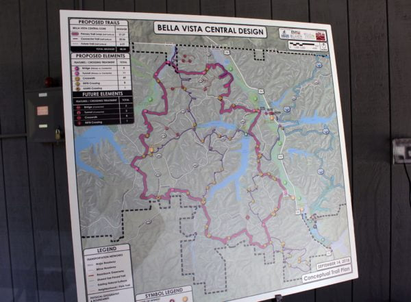 Proposed 50 mile mountain bike trail system
