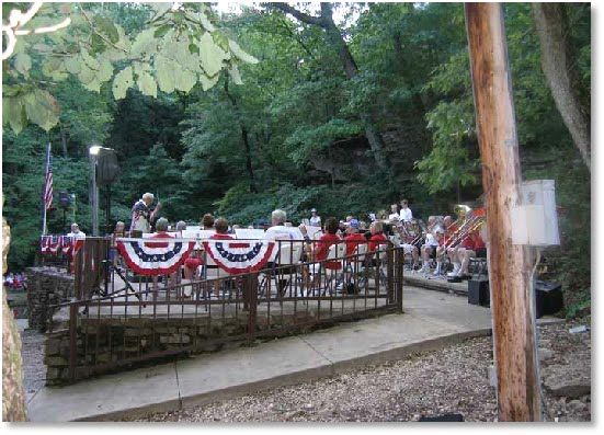 Music in the Park at Blowing Springs Bella Vista