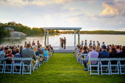Lakepoint Event Center - lakefront wedding venue in northwest Arkansas